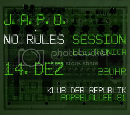 no rules session @ kdr