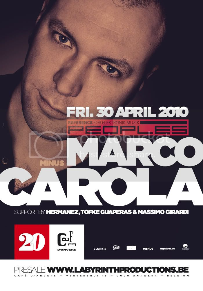 MARCO CAROLA @ CAFE D'ANVERS